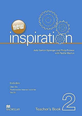 New Inspiration Teacher's Book W/Test CD & Class Audio CD-2
