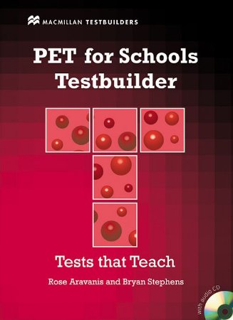 Pet For Schools Testbuilder With Audio CD (W/Key)