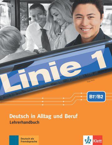 Linie 1, Lehrerhandbuch Mit Audio-CDs Und DVD - B1/B2