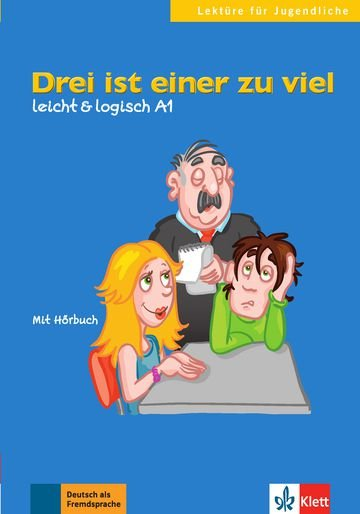 Drei Ist Einer Zu Viel, Buch + CD