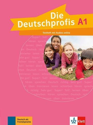 Die Deutschprofis, Testheft + Audios Online - A1