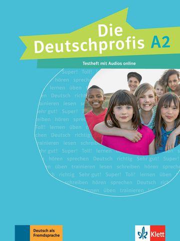 Die Deutschprofis, Testheft + Audios Online - A2