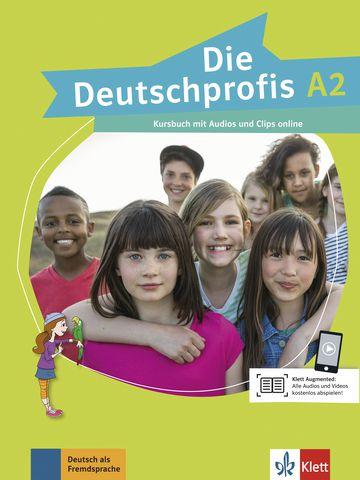 Die Deutschprofis, Kursbuch + Audios Und Clips Online - A2