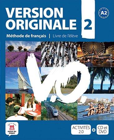 Version Originale 2 - Livre De L'Élève + DVD + CD - A2