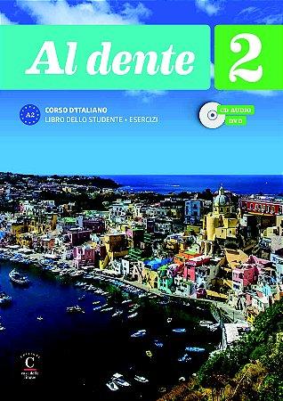 Al Dente 2 - Libro Dello Studente + Esercizi+CD+DVD Premium