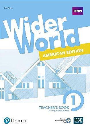 Wider World 1 - American Edition - Teacher'S Book With Digital Resources + Online