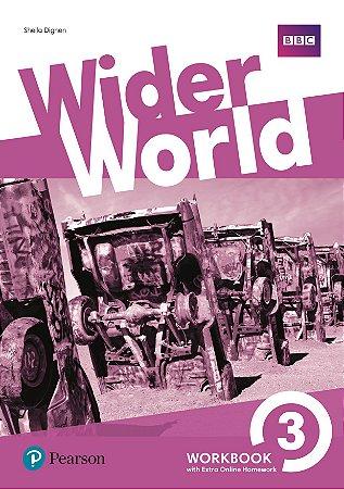 Wider World 3 - Workbook With Online Homework Pack