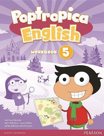 Poptropica English 5 - Workbook - American Edition
