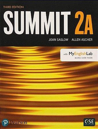 Summit 2A - Student Book With Myenglishlab