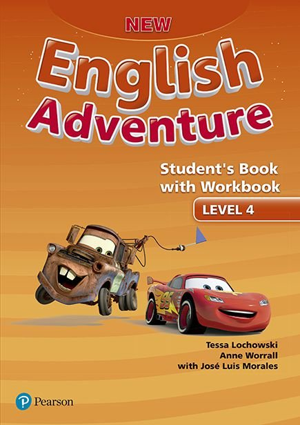 New English Adventure 4 - Student'S Book With Workbook