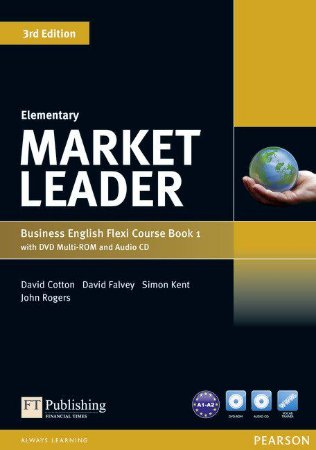 Market Leader - Elementary - Business English Flexi Course Book 1 With Dvd Multi-Rom And Audio Cd