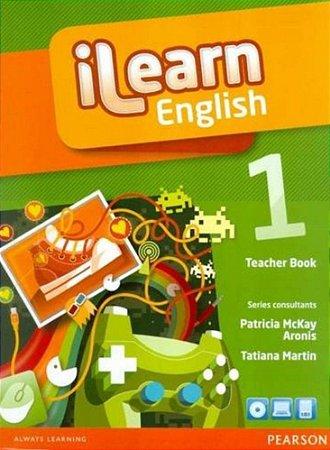 Ilearn English 1 - Teacher Book + Multi-Rom + Reader