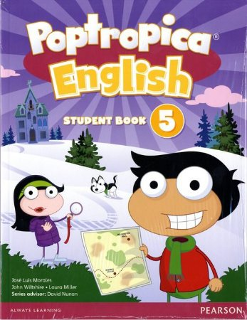 Poptropica English 5 - Student Book - American Edition - Online World Access Card Pack
