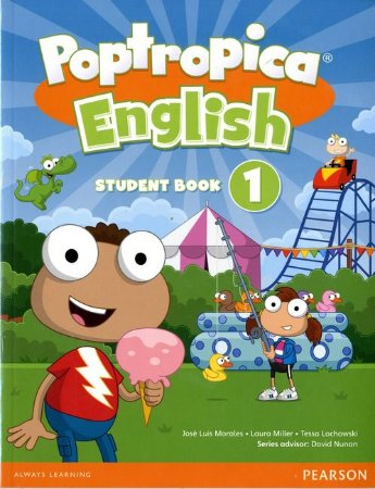 Poptropica English 1 - Student Book - American Edition - Online World Access Card Pack