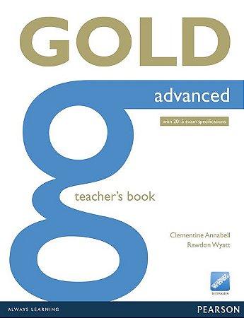 Gold - Advanced - Teacher'S Book