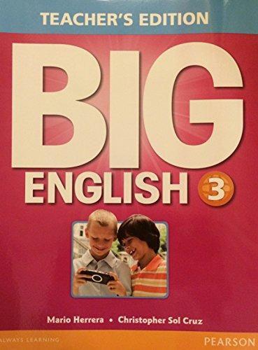 Big English 3 - Teacher'S Edition