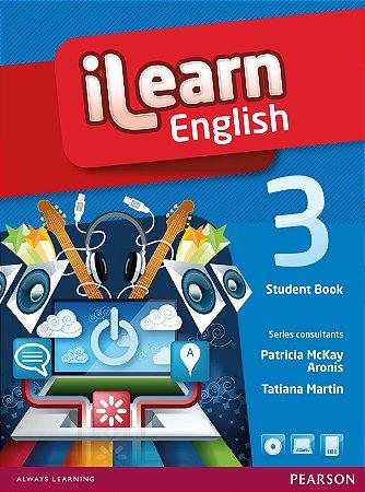 Ilearn English 3 - Student Book + Workbook + Multi-Rom + Reader