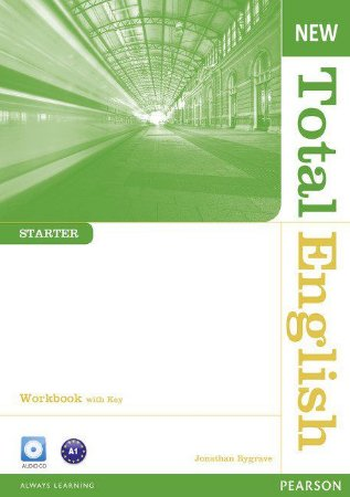 New Total English - Starter - Workbook With Key And Audio Cd Pack