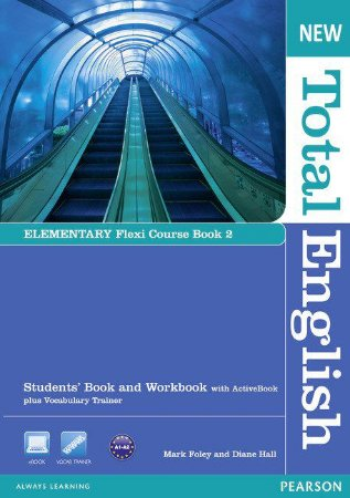 New Total English - Elementary - Flexi Course Book 2 - Students' Book And Workbook With Activebook