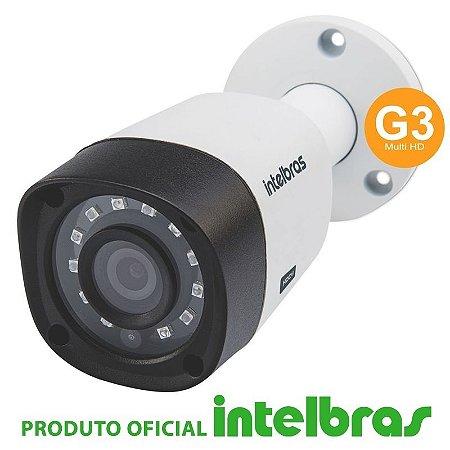 Câmera Intelbras Bullet Multi HD 1120B G3 Alta Definição (1.0MP | 720p | 2.8mm | Plast)
