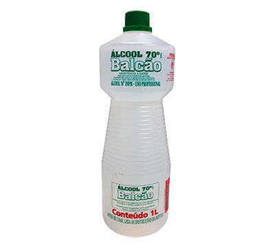 ALCOOL 70% PARA LIMPEZA