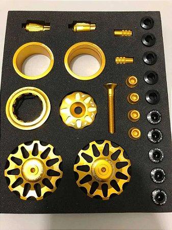 Combo Bling Box Token Tk391st Dourado