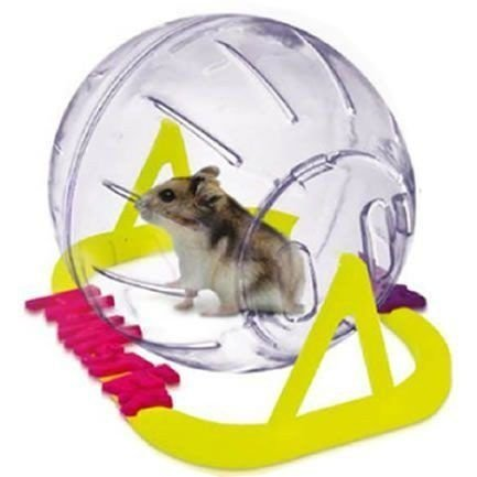 Globo Para Hamster com Pedestal