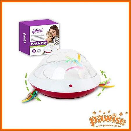 Interativo para Gato Peek N Play Pawise