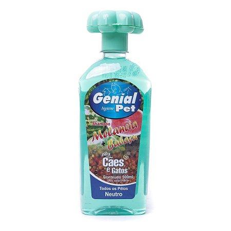 Shampoo Genial Pet Melancia com Babaçu