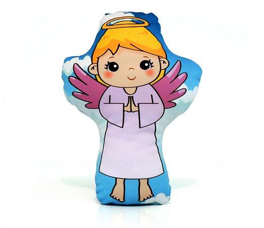 Almofadinha Anjo da Guarda Menina