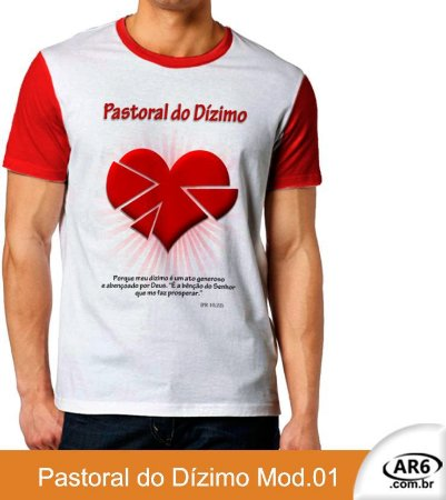 Camiseta Pastoral do Dízimo