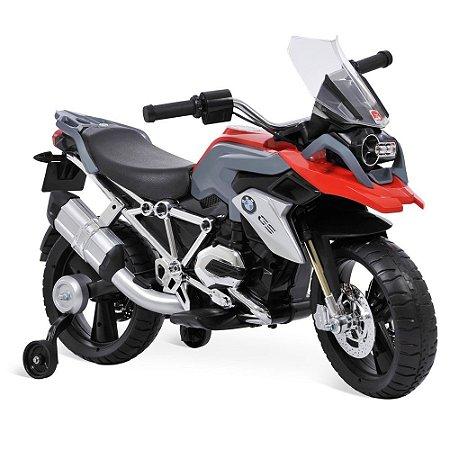Mini Moto Elétrica Bandeirante Bmw Gs1200 12v