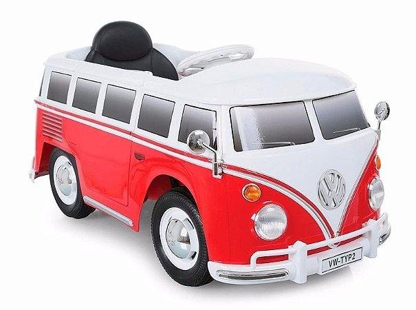 Mini Veículo Brinquedo VW Kombi R/C 6v Bandeirante