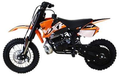 Mini Moto MXF Minicross 50cc 2T Laranja