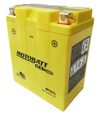 Bateria Gel Motobatt Mtx7l Ytx7l-bs Honda CBX 300