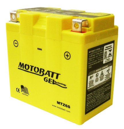 Bateria Gel Motobatt Mtz6s Yzt6v Honda XRE 300