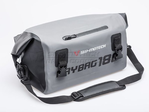 Mala Traseira Externa Impermeável Drybag 180 18 Litros Cinza SW-Motech