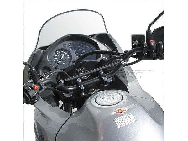 Barra Transversal Para Reforço De Guidão 22mm Preta SW-Motech