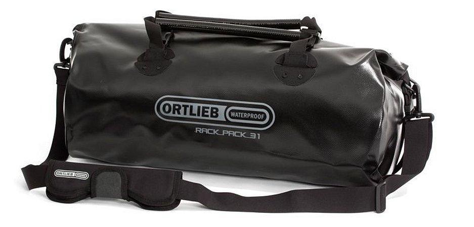 Mala Impermeável Média Ortlieb Rack Pack 31 Litros Preta