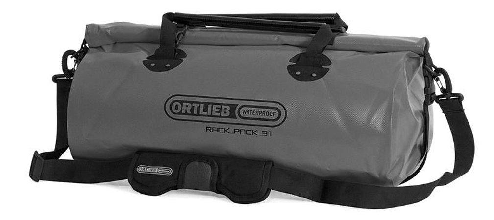 Mala Impermeável Média Ortlieb Rack Pack 31 Litros Cinza