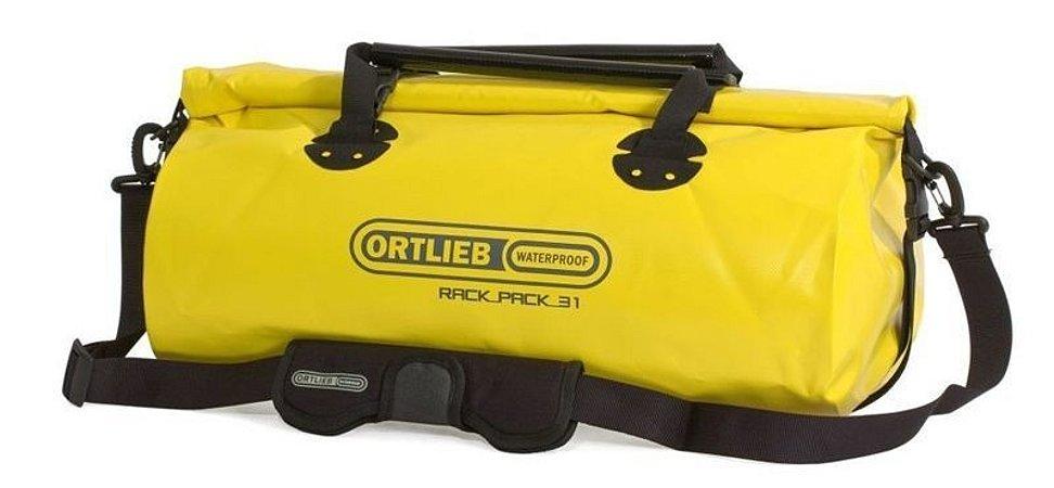 Mala Impermeável Média Ortlieb Rack Pack 31 Litros Amarela