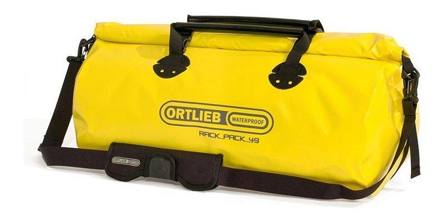 Mala Impermeável Grande Ortlieb Rack Pack 49 Litros Amarela