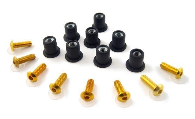 Parafuso para bolha (8 unidades) Puig Dourado