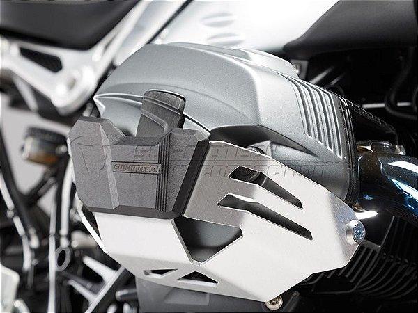 Protetor Dos Cilindros Em Alumínio Natural BMW R9 Nine T SW-Motech