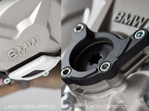 Kit De Protetor Das Tampas Laterais Do Motor BMW S1000XR