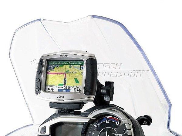 Suporte De Fixação Para GPS Bolha SW-Motech Triumph Tiger 800