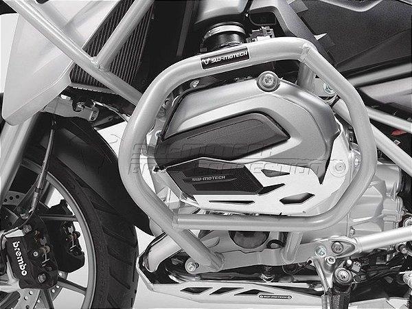 Protetor De Motor Lateral Prata BMW R 1200GS 2014