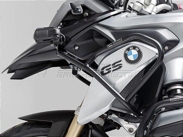 Protetor De Motor Lateral Superior Preto BMW R 1200GS 2014