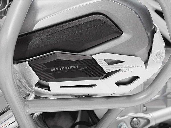 Protetor dos Cilindros em Aluminio Natural BMW R1200 GS