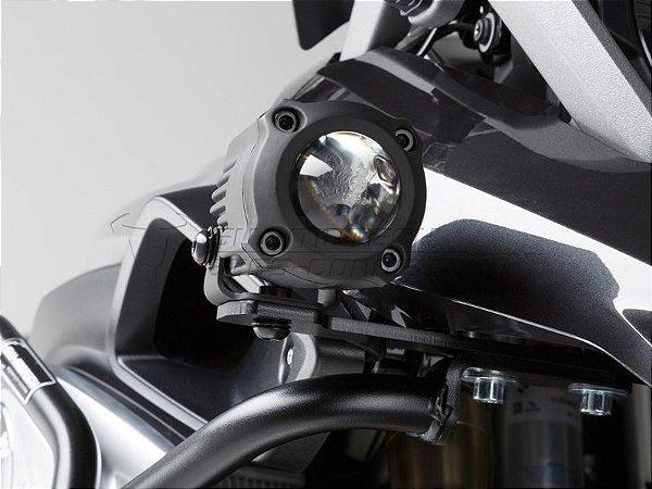 Kit Fixação de Farol Auxiliar Preto SW-Motech BMW R1200GS